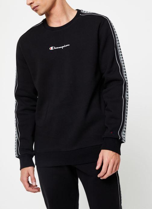 Vêtements Champion Crewneck sweatshirt small logo Noir vue détail/paire