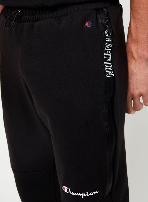 Kleding Champion Rib cuff pants small logo Zwart voorkant
