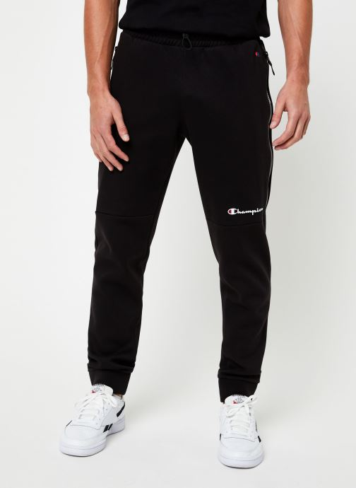 Kleding Champion Rib cuff pants small logo Zwart detail