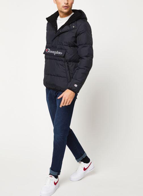 Kleding Champion Hodeed jacket Zwart onder