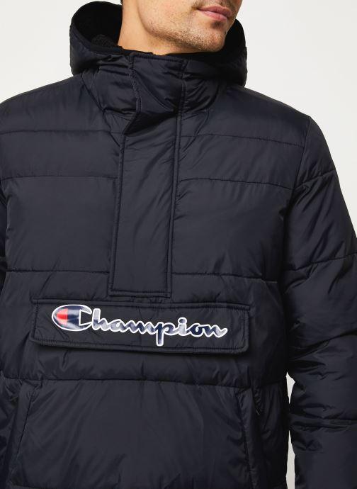 Kleding Champion Hodeed jacket Zwart voorkant