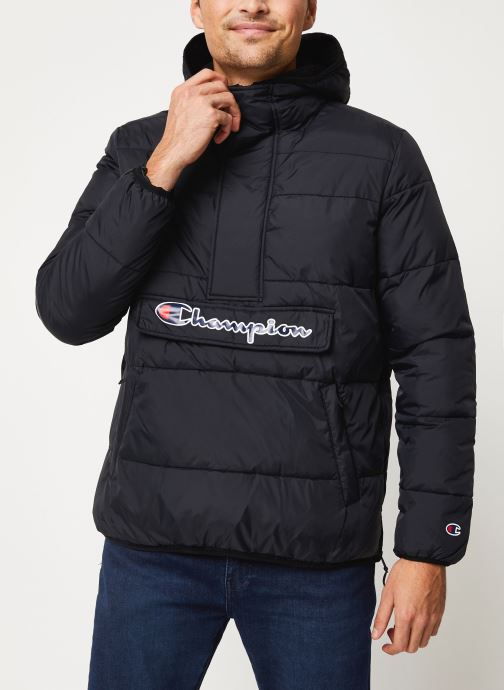 Kleding Champion Hodeed jacket Zwart rechts