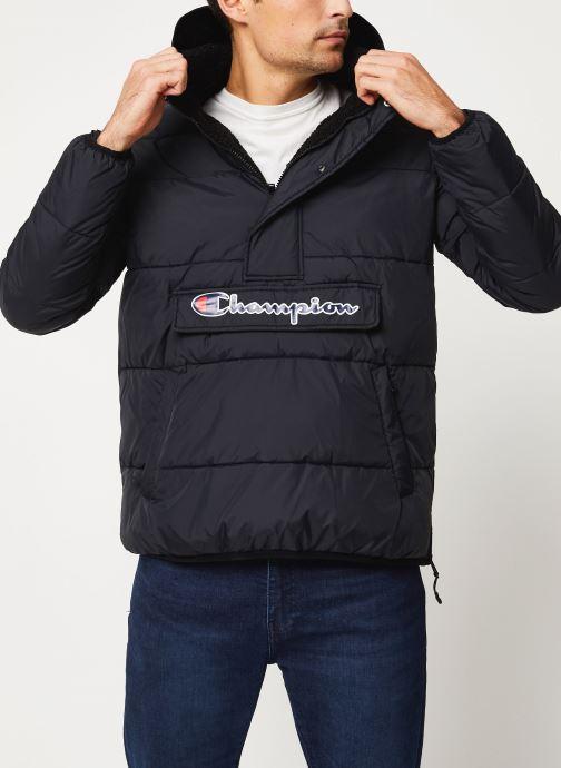 Kleding Champion Hodeed jacket Zwart detail