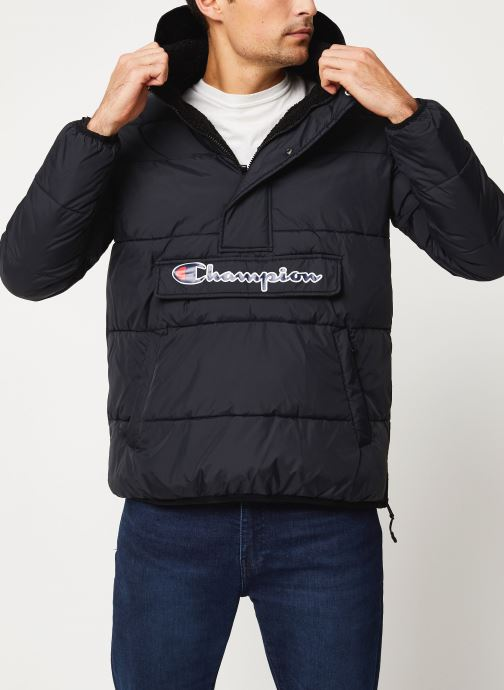 Kleding Champion Hodeed jacket Zwart detail
