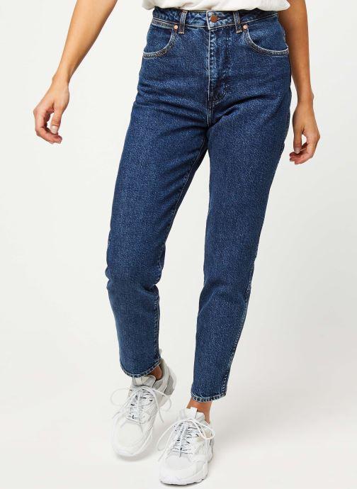 Vêtements Wrangler Mom Jeans Bleu vue détail/paire