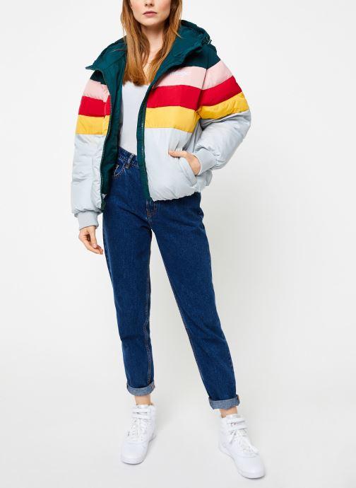 Vêtements Wrangler Rainbow Puffer Bleu vue bas / vue portée sac