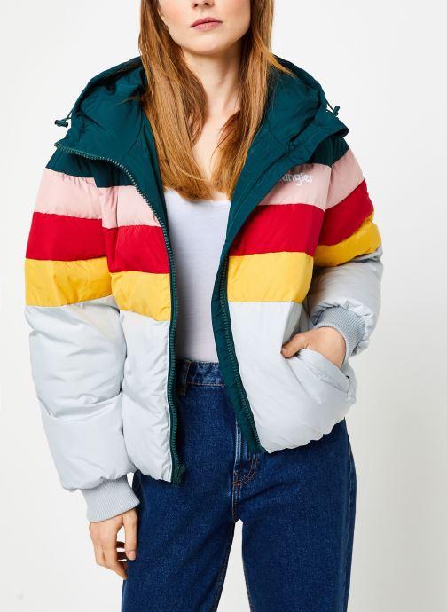 Vêtements Wrangler Rainbow Puffer Bleu vue détail/paire