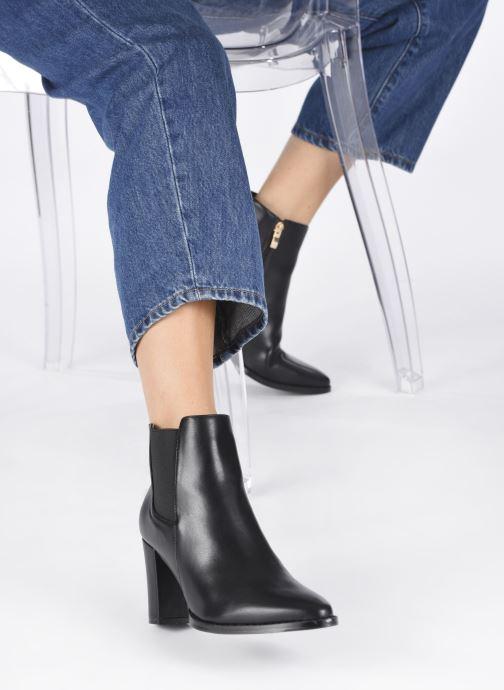 Stiefeletten & Boots I Love Shoes CADENCE schwarz ansicht von unten / tasche getragen
