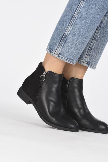 Bottines et boots I Love Shoes CAROLYN Noir vue bas / vue portée sac