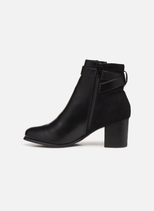 Ankle boots I Love Shoes CARRY Black front view