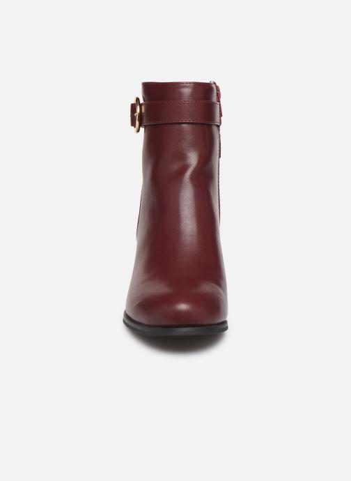 Bottines et boots I Love Shoes CARRY Bordeaux vue portées chaussures