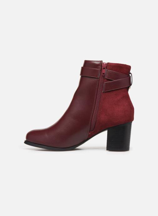 Bottines et boots I Love Shoes CARRY Bordeaux vue face