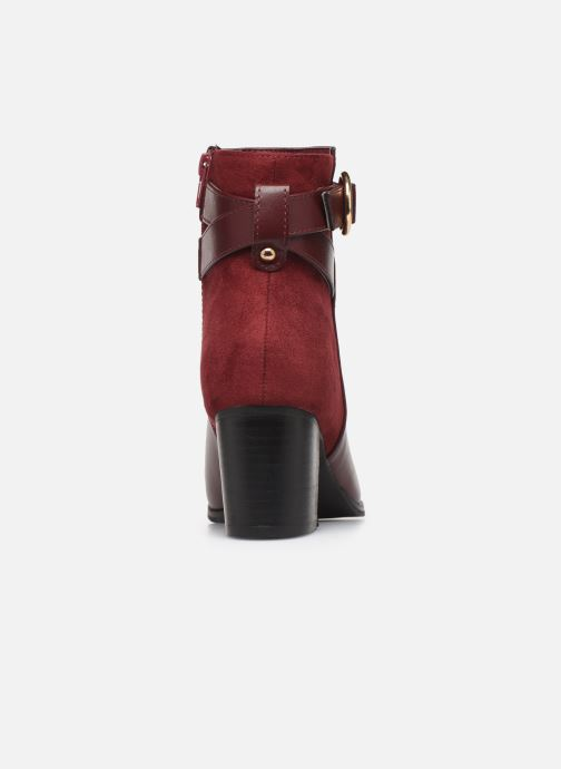 Ankle boots I Love Shoes CARRY Burgundy view from the right