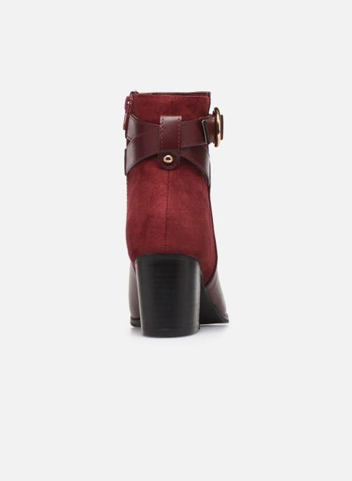 Bottines et boots I Love Shoes CARRY Bordeaux vue droite
