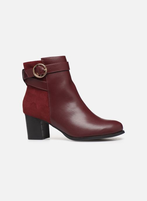 Ankle boots I Love Shoes CARRY Burgundy back view