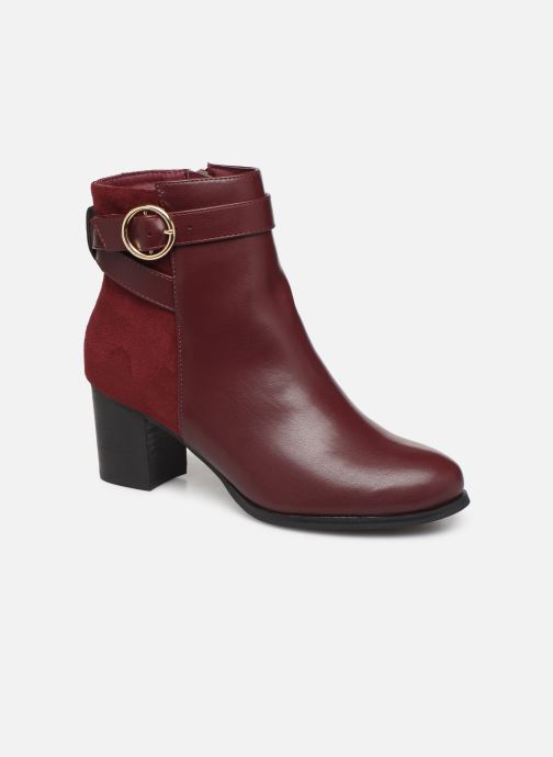 Ankle boots I Love Shoes CARRY Burgundy detailed view/ Pair view