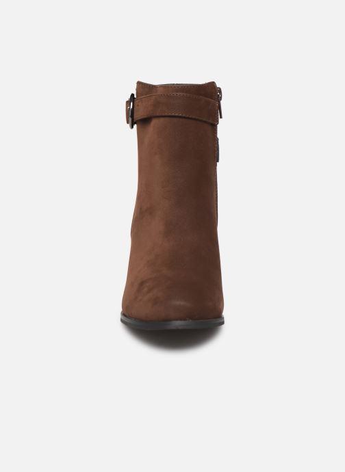 Bottines et boots I Love Shoes CARRY Marron vue portées chaussures
