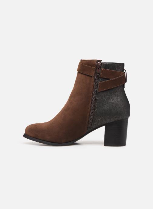 Bottines et boots I Love Shoes CARRY Marron vue face