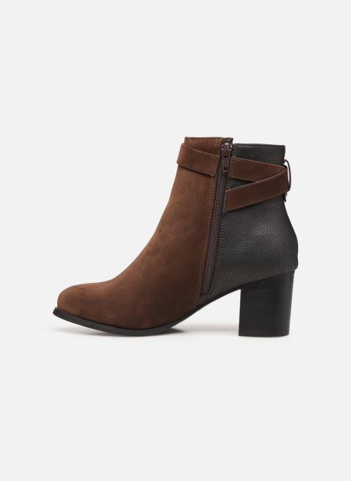 Botines  I Love Shoes CARRY Marrón vista de frente