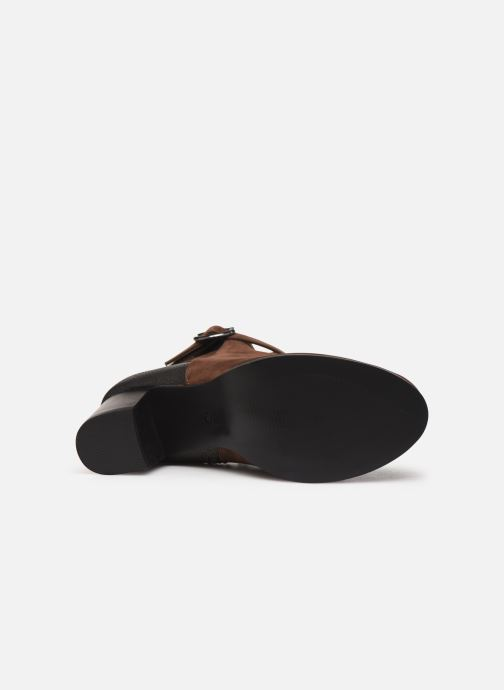Stivaletti e tronchetti I Love Shoes CARRY Marrone immagine dall'alto