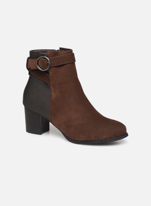 Bottines et boots I Love Shoes CARRY Marron vue détail/paire
