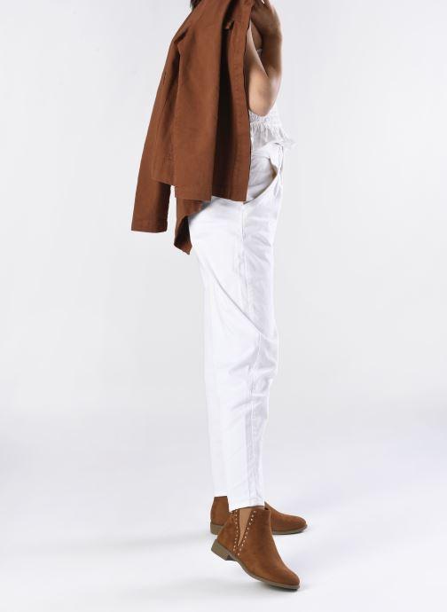Stiefeletten & Boots I Love Shoes CASEY braun ansicht von unten / tasche getragen