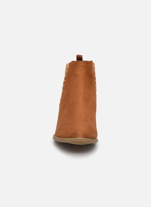 Stiefeletten & Boots I Love Shoes CASEY braun schuhe getragen