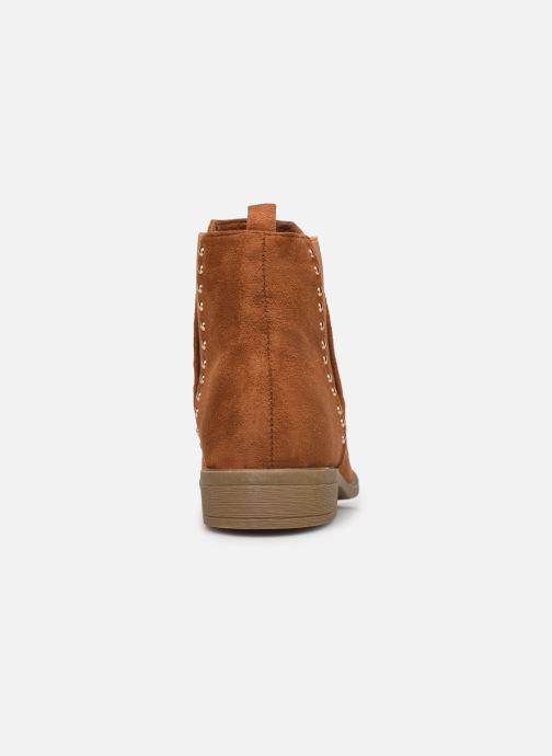 Ankelstøvler I Love Shoes CASEY Brun Se fra højre