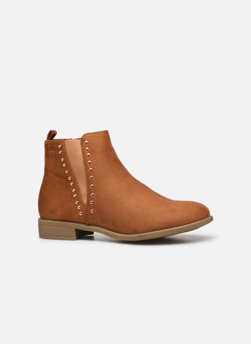 Ankle boots I Love Shoes CASEY Brown back view