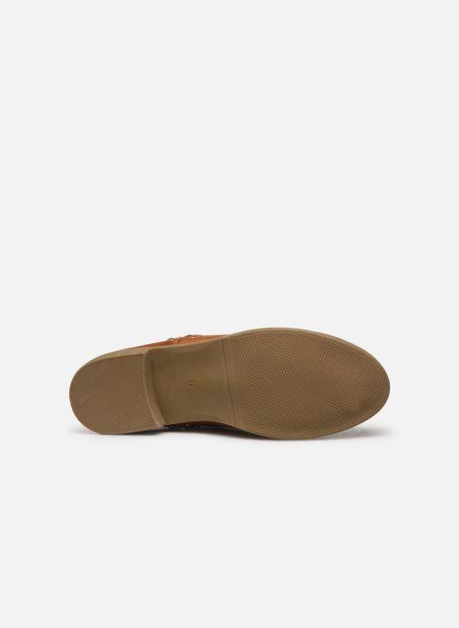 Stivaletti e tronchetti I Love Shoes CASEY Marrone immagine dall'alto