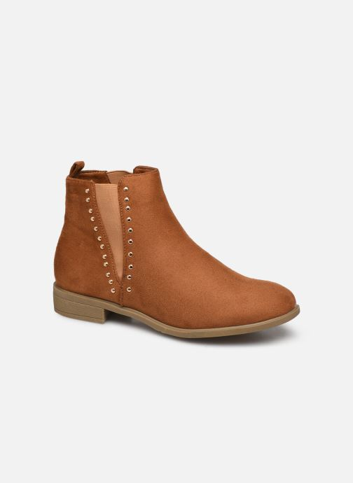 Ankle boots I Love Shoes CASEY Brown detailed view/ Pair view