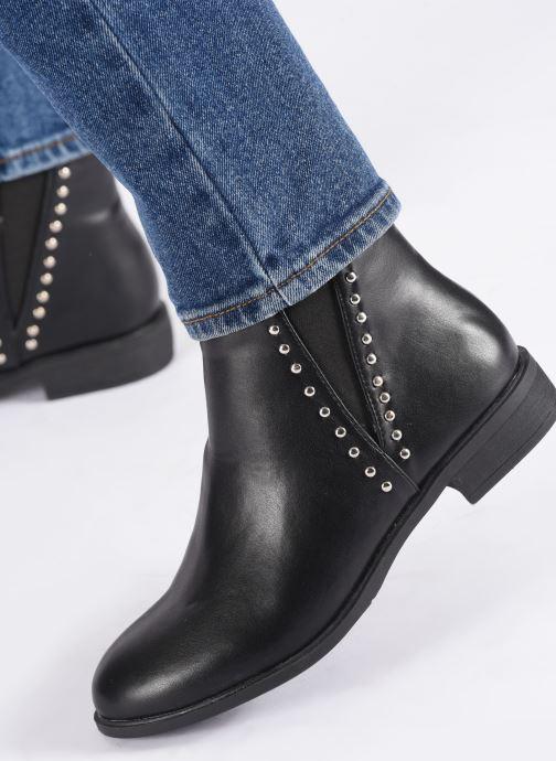 Bottines et boots I Love Shoes CASEY Noir vue bas / vue portée sac
