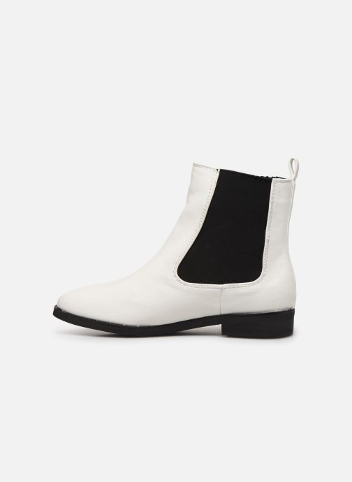 Ankle boots I Love Shoes CALLISTA White front view