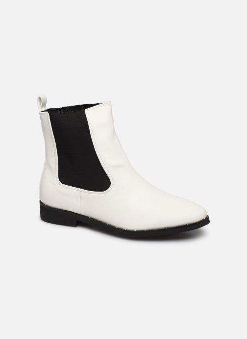 Boots en enkellaarsjes I Love Shoes CALLISTA Wit detail