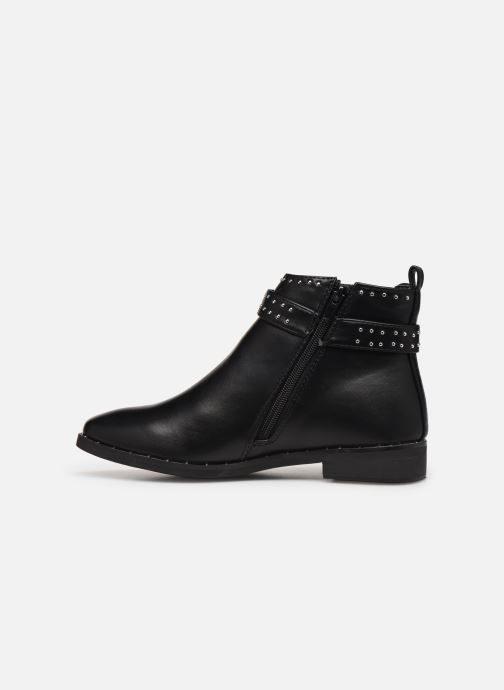 Ankle boots I Love Shoes CALLUM Black front view