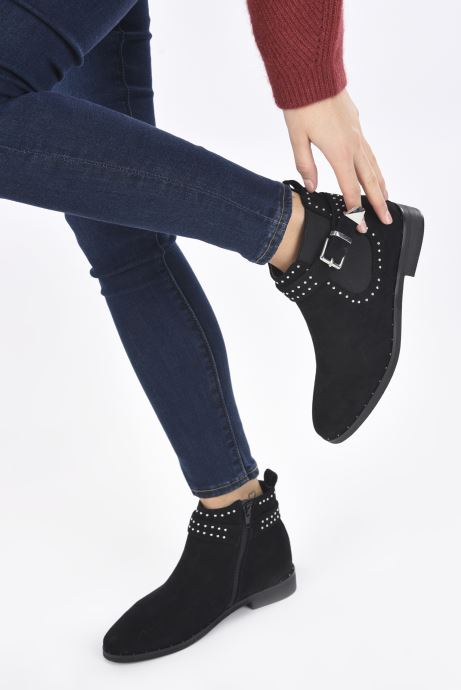 Bottines et boots I Love Shoes CALLUM Noir vue bas / vue portée sac