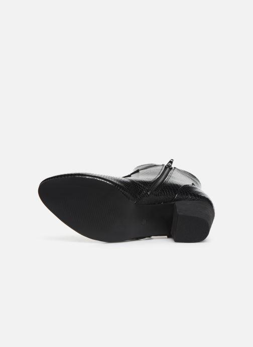 Stivaletti e tronchetti I Love Shoes CAYDEN Nero immagine dall'alto