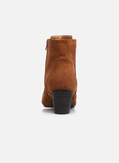 Stivaletti e tronchetti I Love Shoes CAYDEN Marrone immagine destra