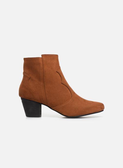 Boots en enkellaarsjes I Love Shoes CAYDEN Bruin achterkant