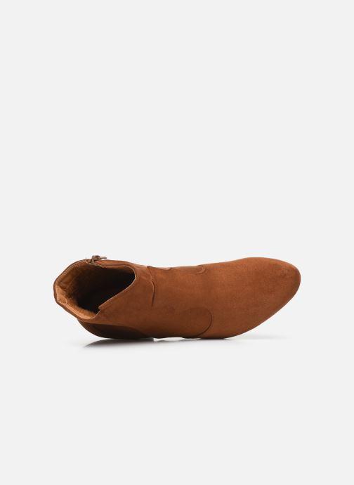 Stivaletti e tronchetti I Love Shoes CAYDEN Marrone immagine sinistra