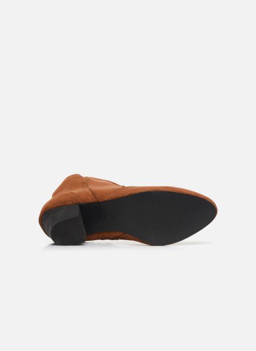Stivaletti e tronchetti I Love Shoes CAYDEN Marrone immagine dall'alto