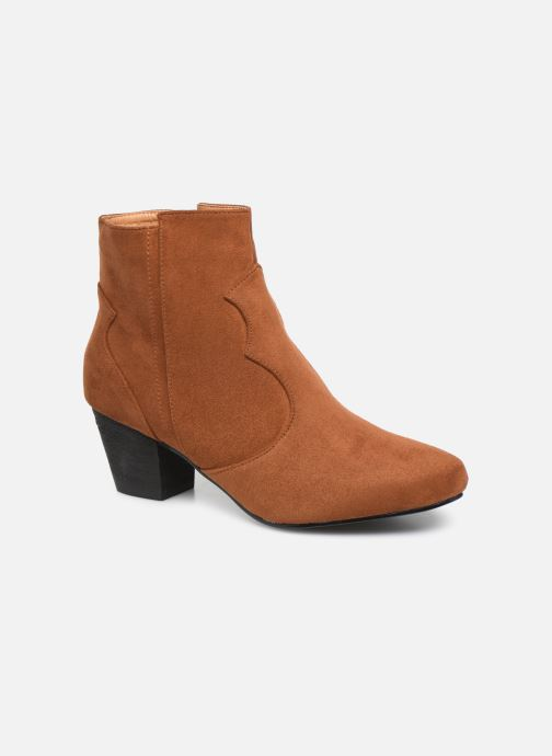 Boots en enkellaarsjes I Love Shoes CAYDEN Bruin detail