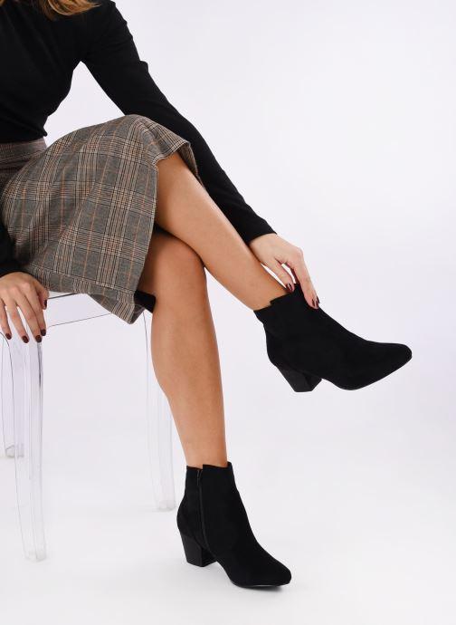 Stivaletti e tronchetti I Love Shoes CAYDEN Nero immagine dal basso