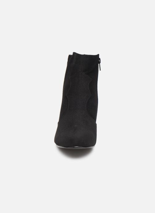 Stivaletti e tronchetti I Love Shoes CAYDEN Nero modello indossato
