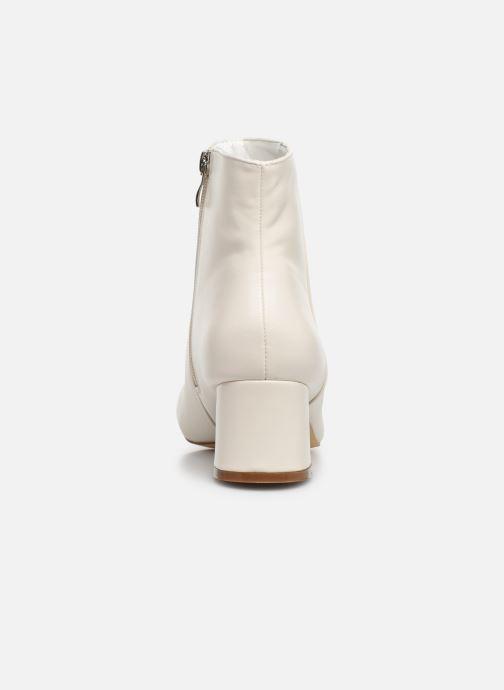 Botines  I Love Shoes CARTER Blanco vista lateral derecha