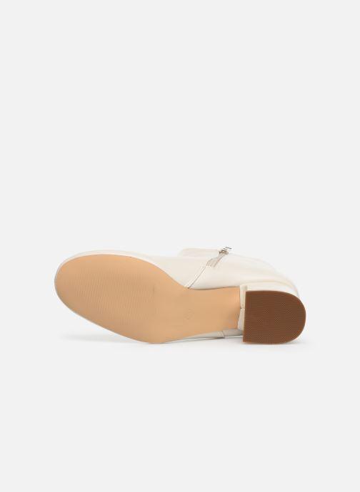 Stivaletti e tronchetti I Love Shoes CARTER Bianco immagine dall'alto