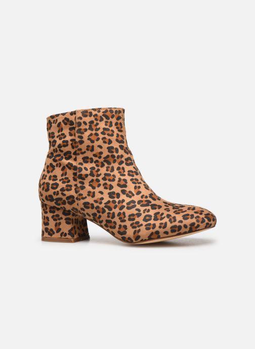 Boots en enkellaarsjes I Love Shoes CARTER Bruin achterkant