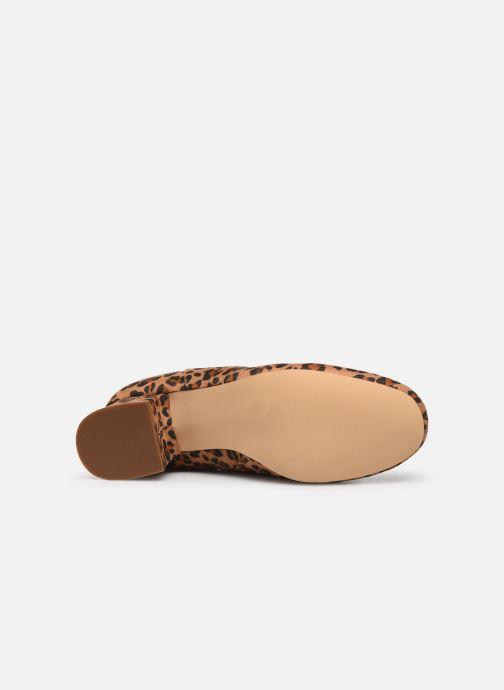 Stivaletti e tronchetti I Love Shoes CARTER Marrone immagine dall'alto