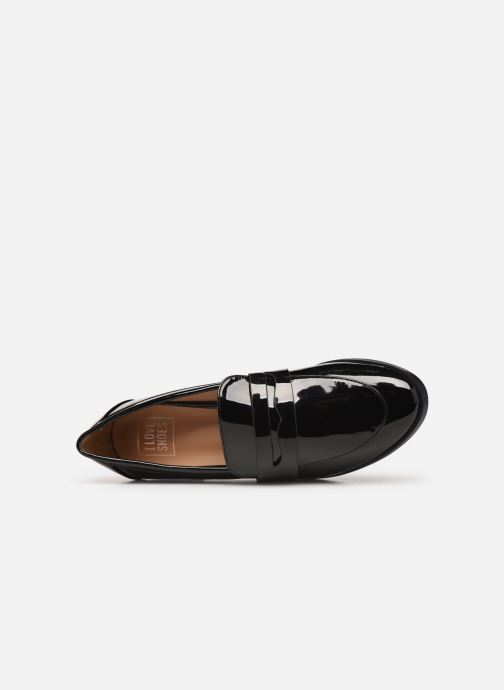 Mocassins I Love Shoes CARLYLE Zwart links