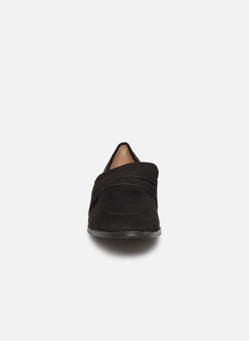Mocassins I Love Shoes CARLYLE Noir vue portées chaussures
